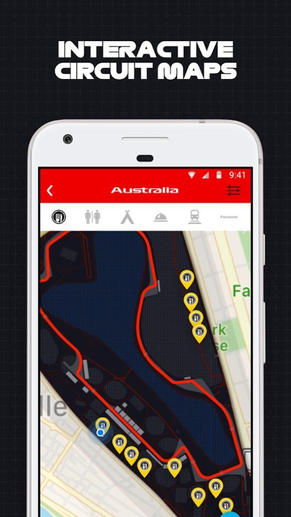 F1 Grand Prix app image September 2019
