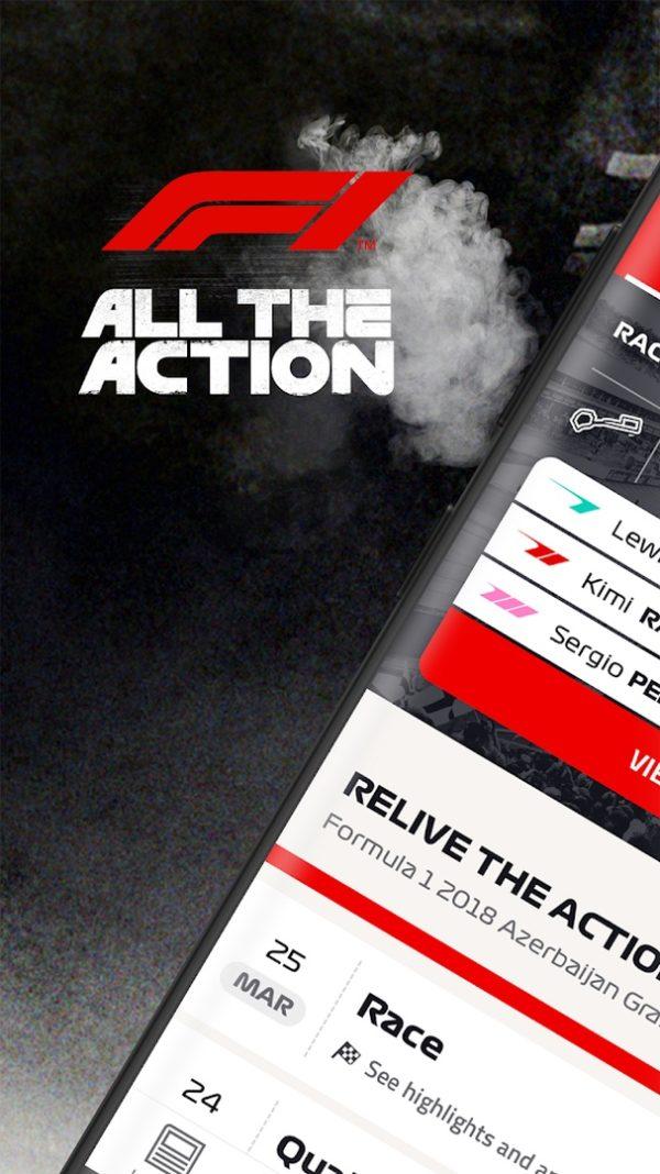 Formula 1 app image September 2019