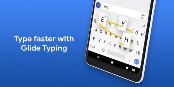 Gboard app image September 2019