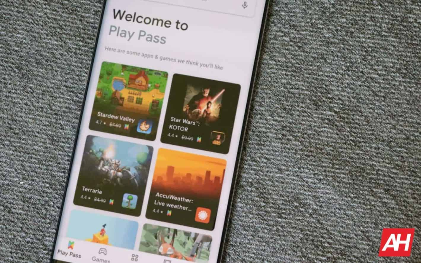 Google Play Pass AH 2019