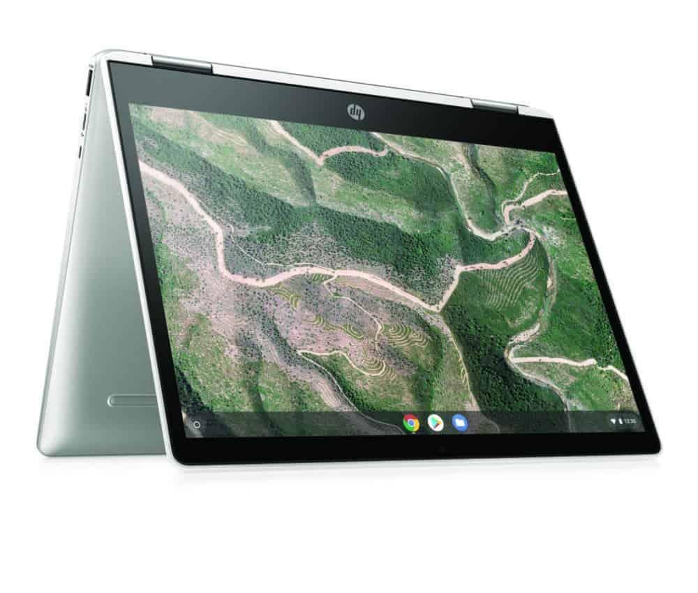 HP Chromebook x360 12b Tent