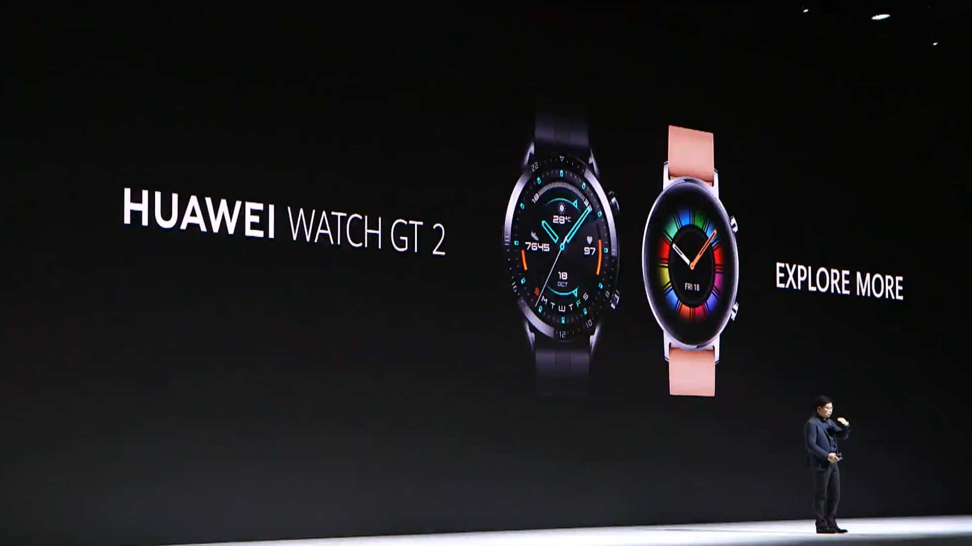 Huawei Mate 30 Event Watch GT 2