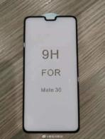 Huawei Mate 30 front panel leak 2