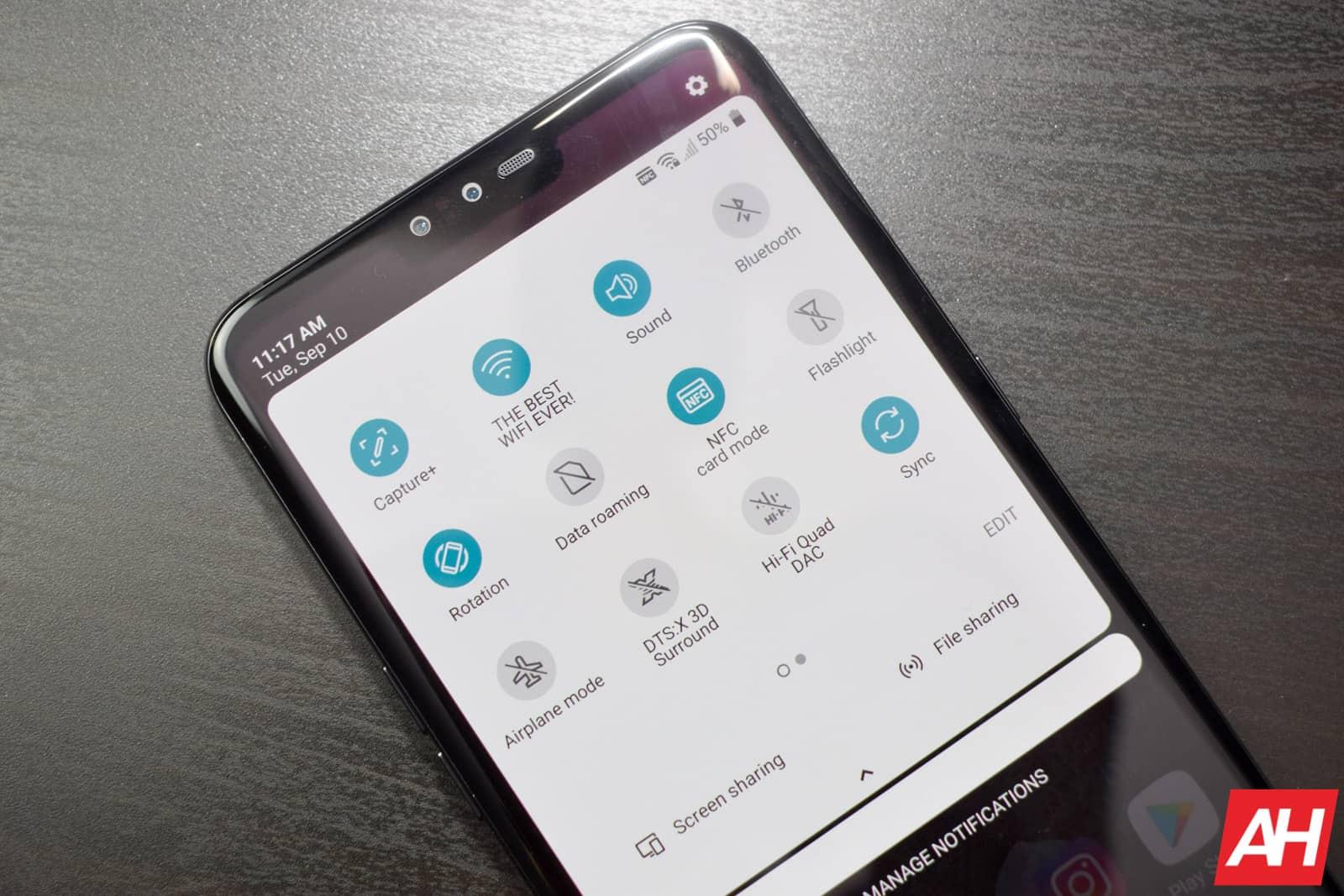 LG V50 ThinQ 5G AM AH 9