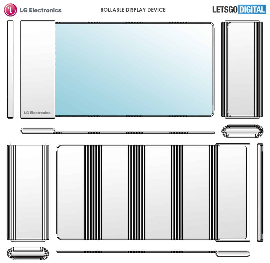 LG rollable display patent image 1