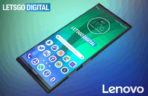Lenovo foldable smartphone with two hinges patent 1 old design 2