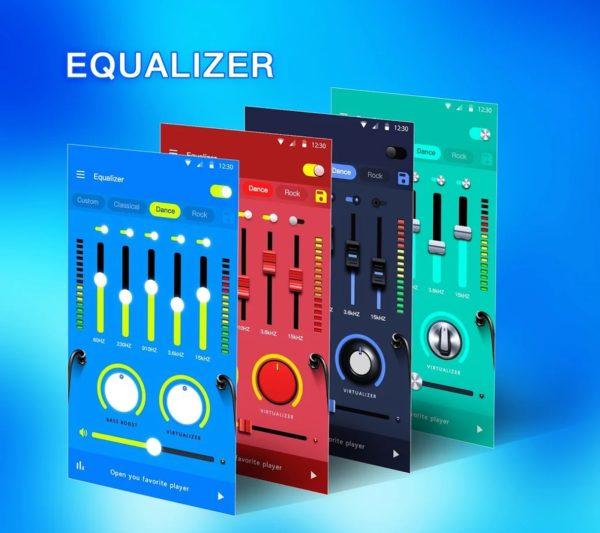 Music Equalizer Bass Booster Volume Booster app image September 2019