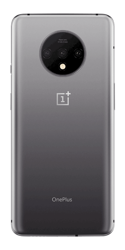 OnePlus 7T Frosted Silver render 3