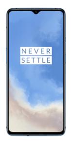 OnePlus 7T Glacier Blue render 2