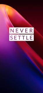 OnePlus 7T wallpaper 1 Never Settle
