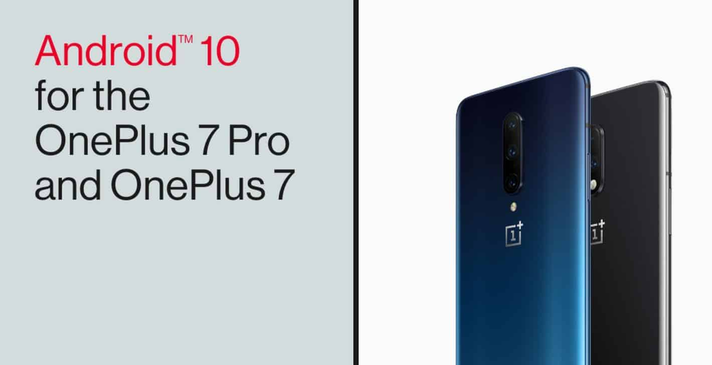 OxygenOS Android 10 OnePlus 7 series 1