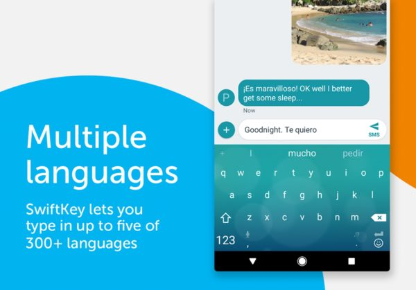 SwiftKey app image September 2019