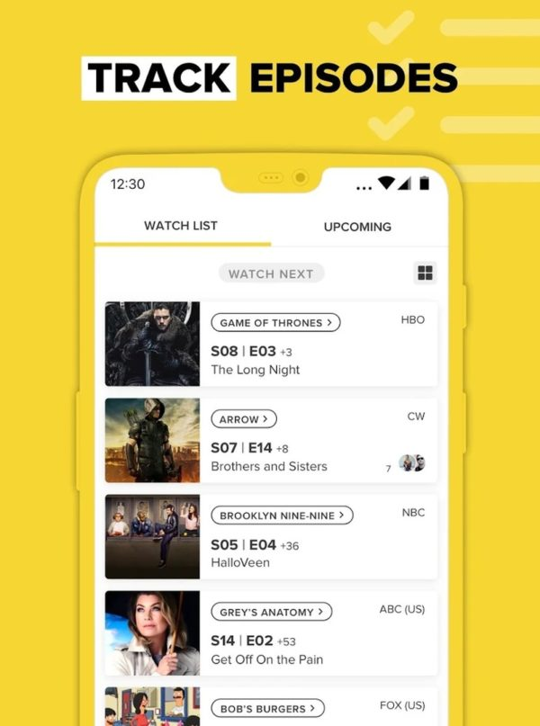 TV Time app image September 2019