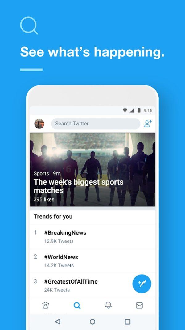 Twitter app image September 2019