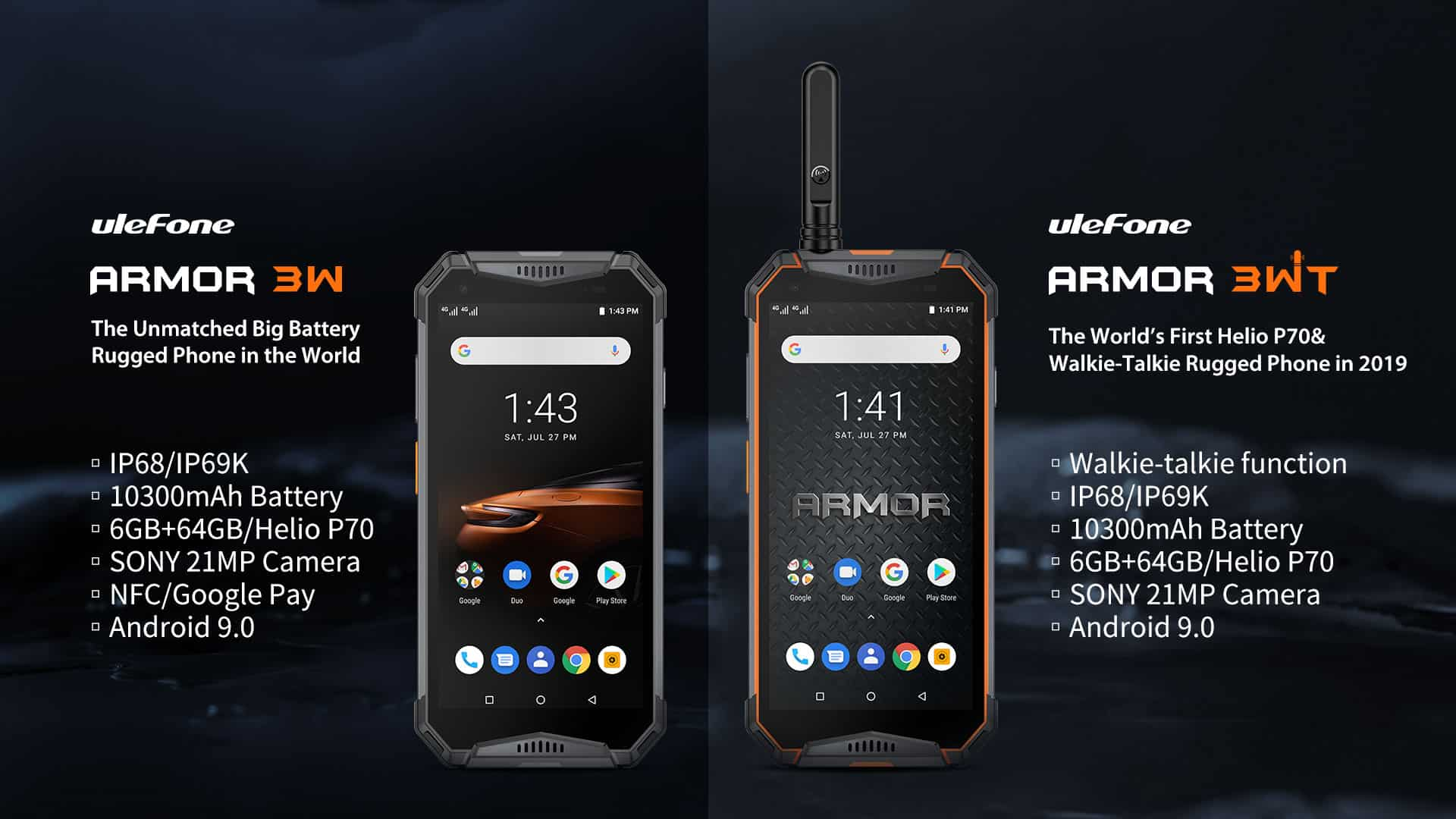 Ulefone Armor 3W and Armor 3WT image 5