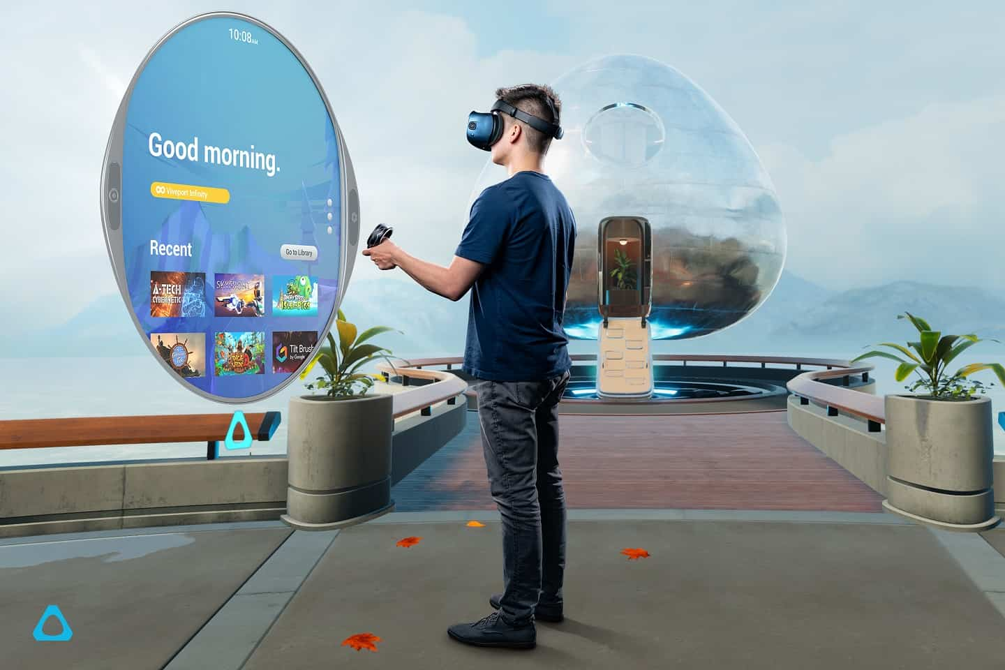 Vive Cosmos Vive Reality System Software