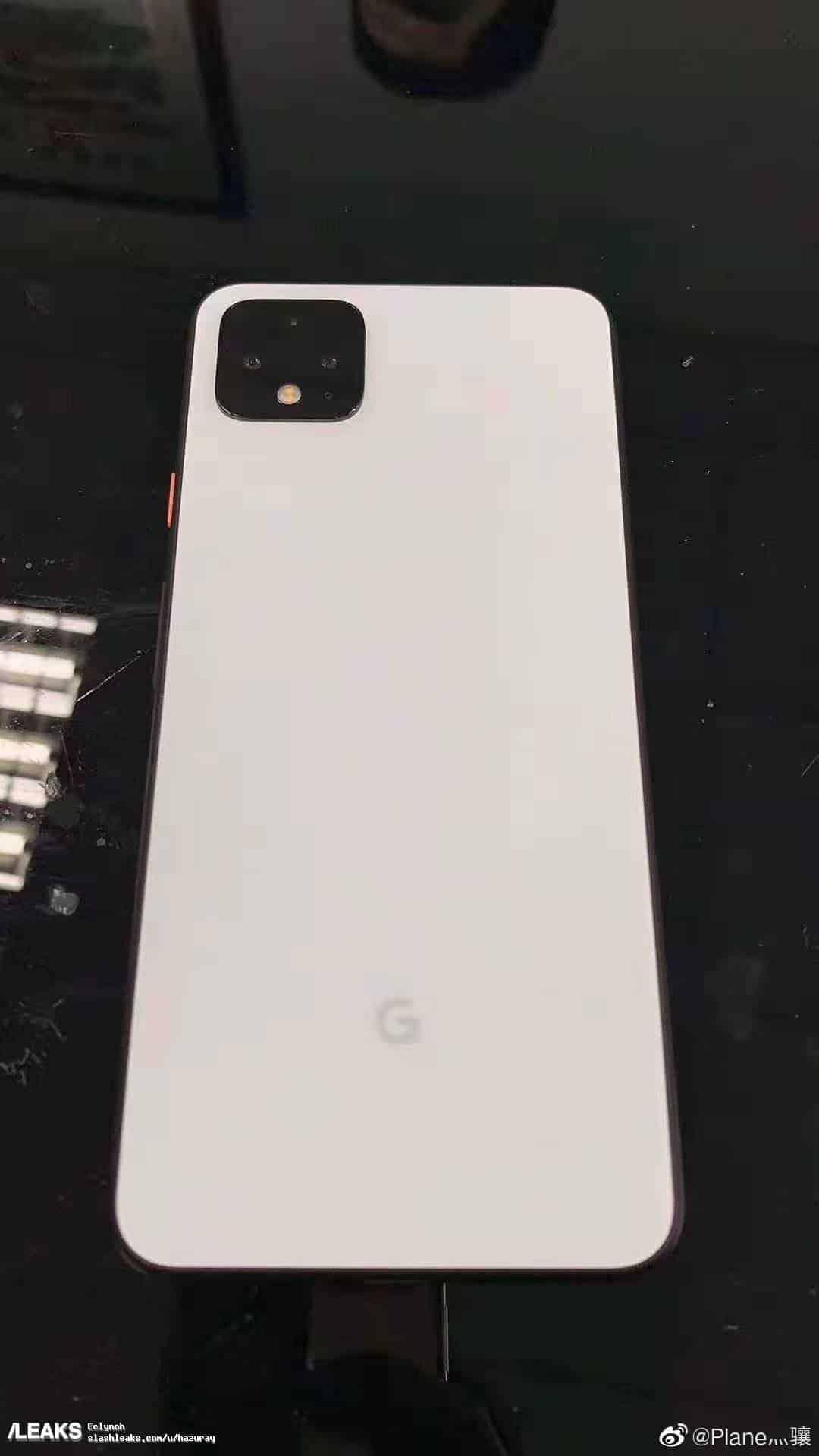White Google Pixel 4 XL leak 4