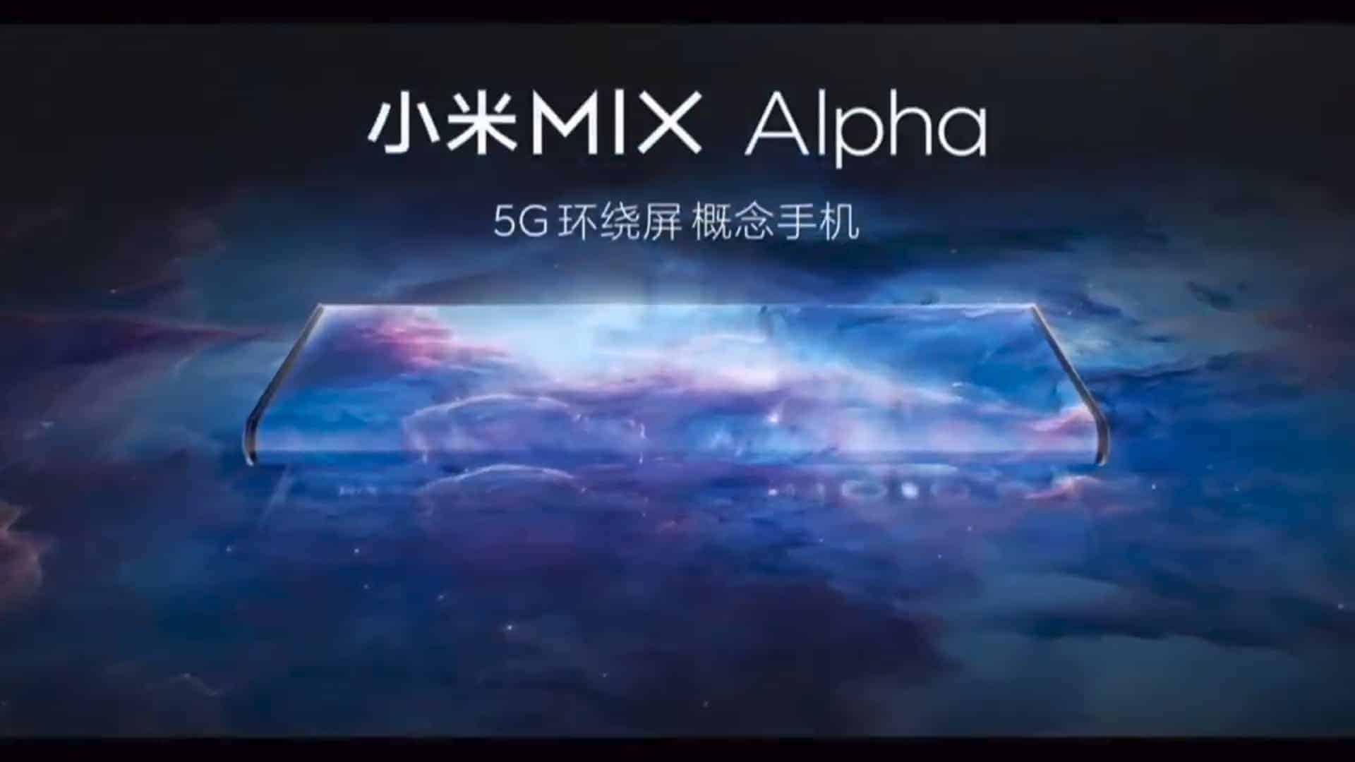 Xiaomi Mi MIX Alpha press conference 1