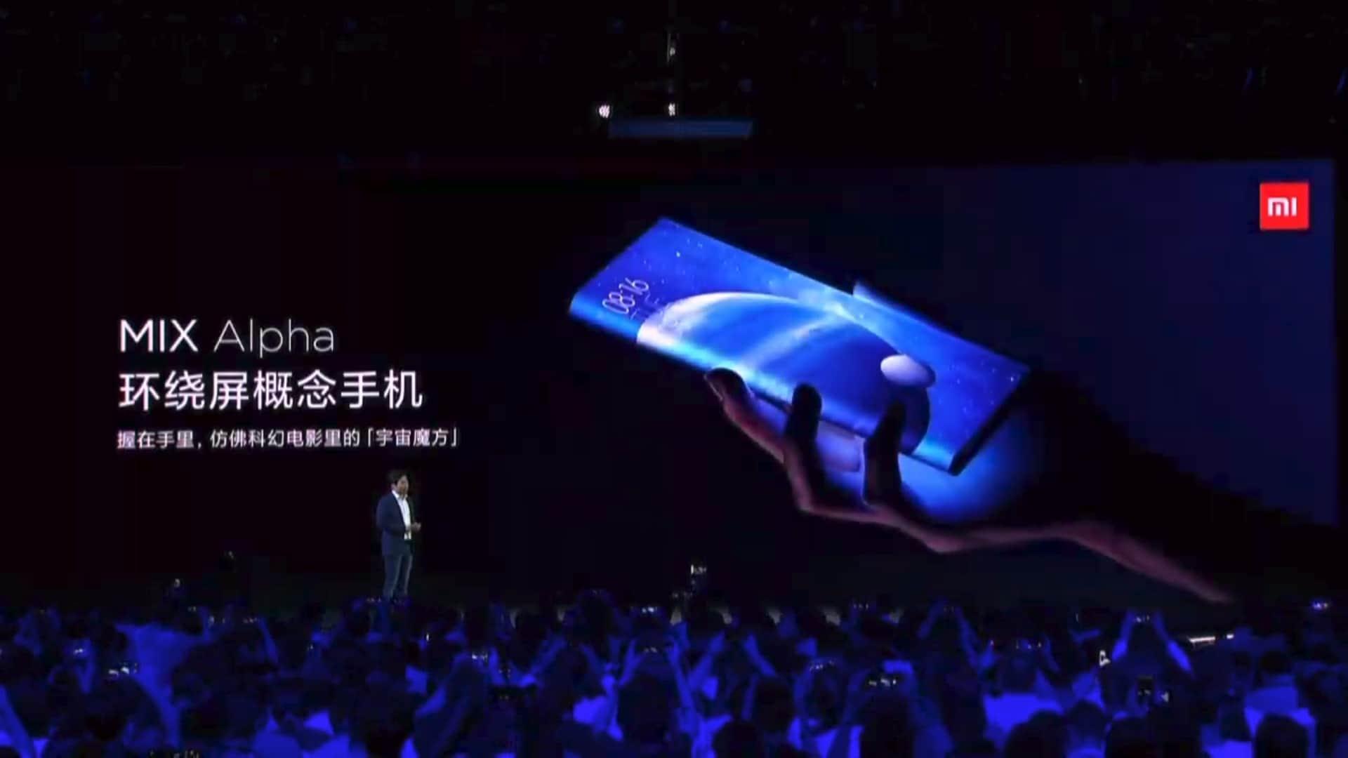 Xiaomi Mi MIX Alpha press conference 4