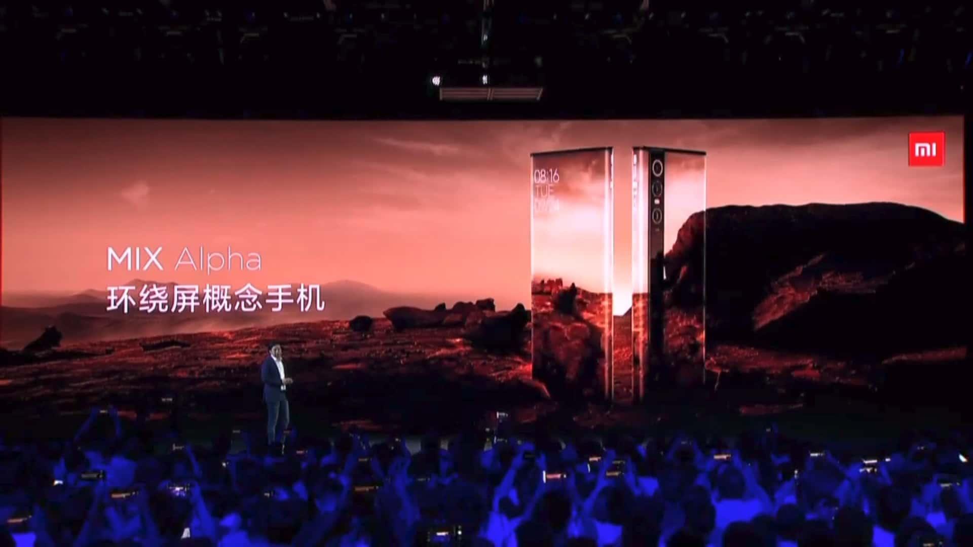 Xiaomi Mi MIX Alpha press conference 5