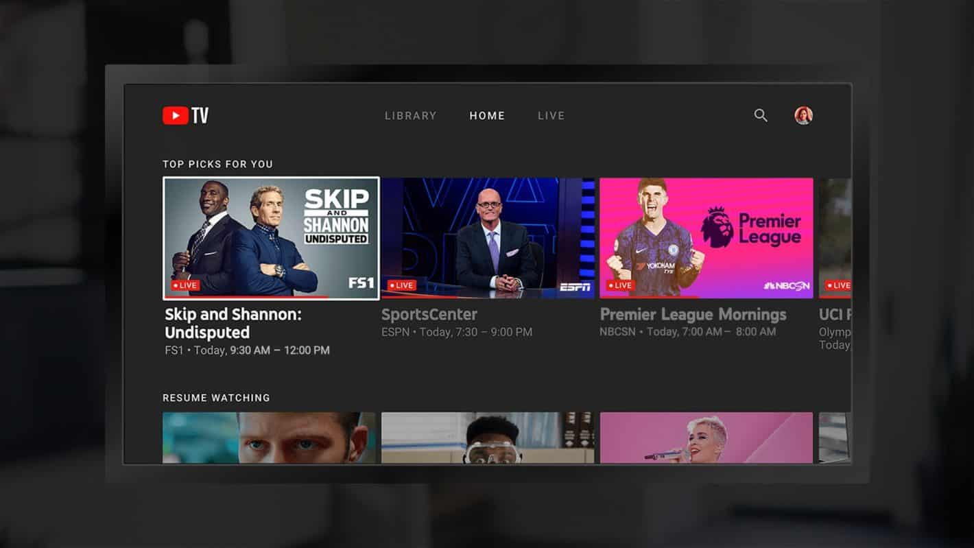 YouTube TV Fire TV 01