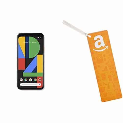 Google Pixel 4 with $100 Amazon Gift Card - Amazon