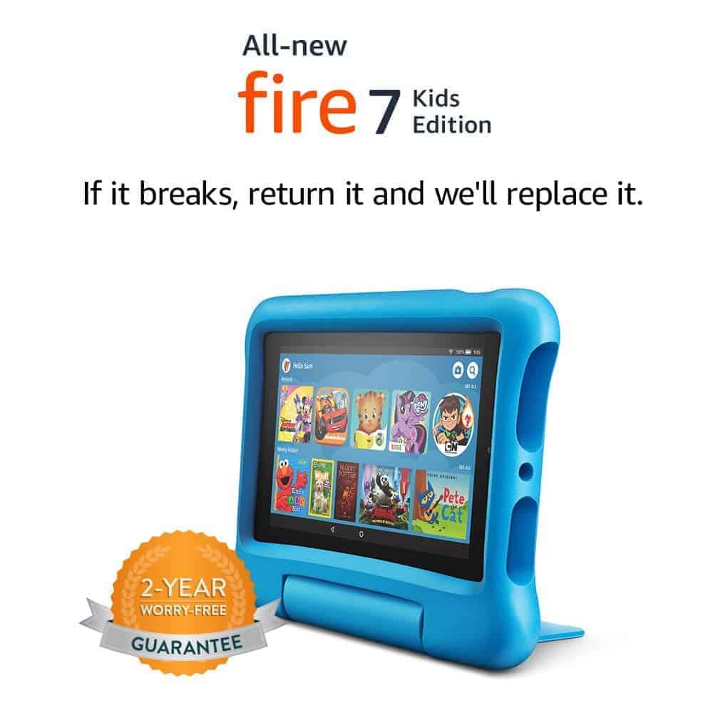 Amazon Fire 7 Kids Edition Tablet - Amazon