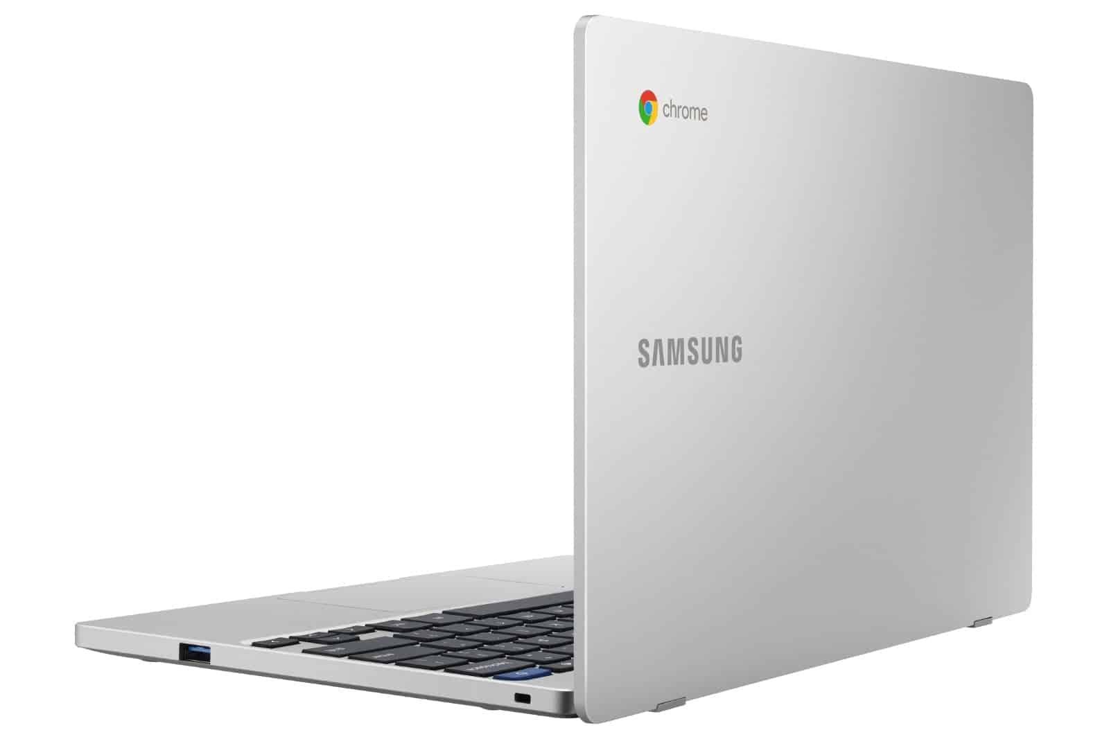 Chromebook 4 Back Open Platinum Titan