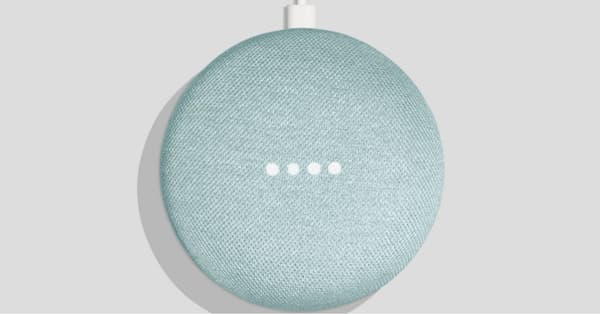 Google Home Mini Aqua October 2 2018 1
