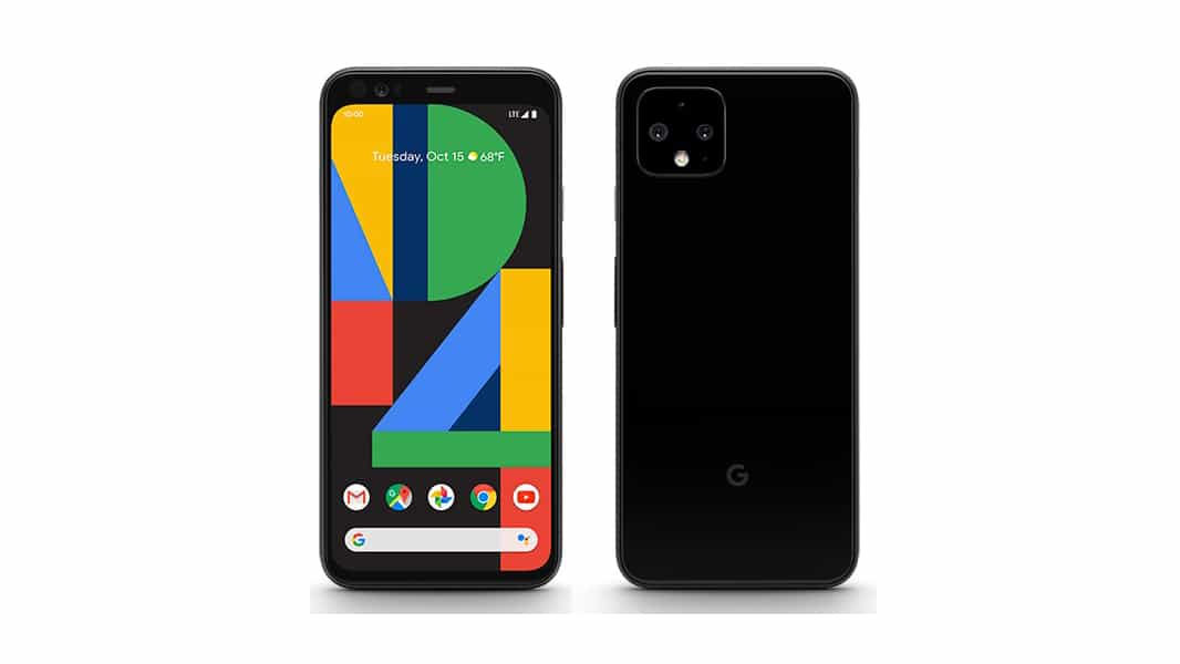 Google Pixel 4 Evan Blass black leak 1 featured