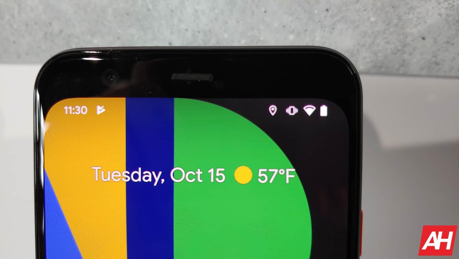 Google Pixel 4 Hands On AM AH 11