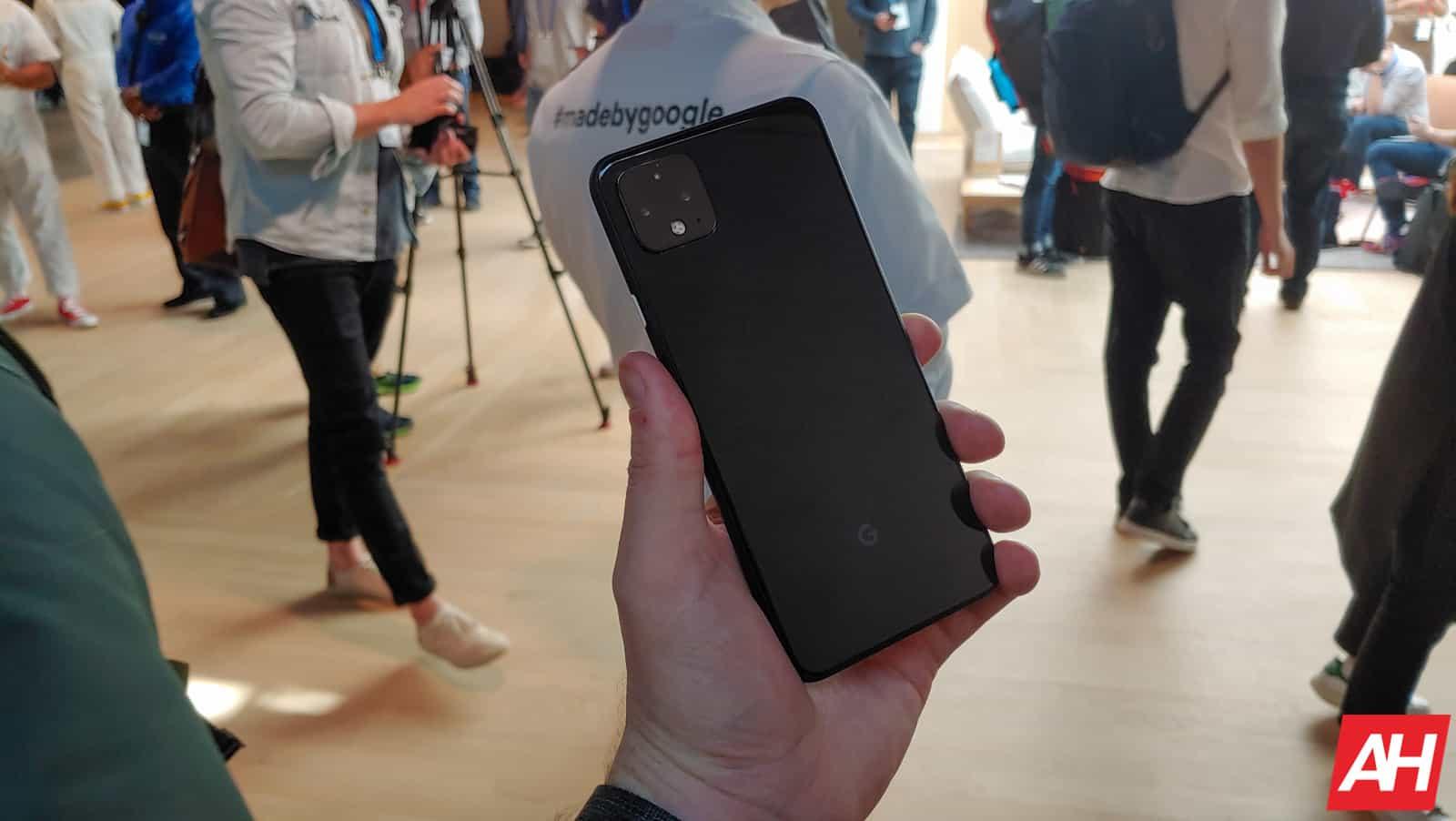 Google Pixel 4 Hands On AM AH 18