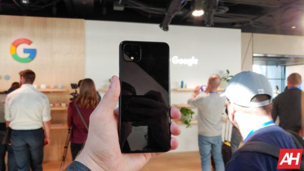 Google Pixel 4 Hands On AM AH 19