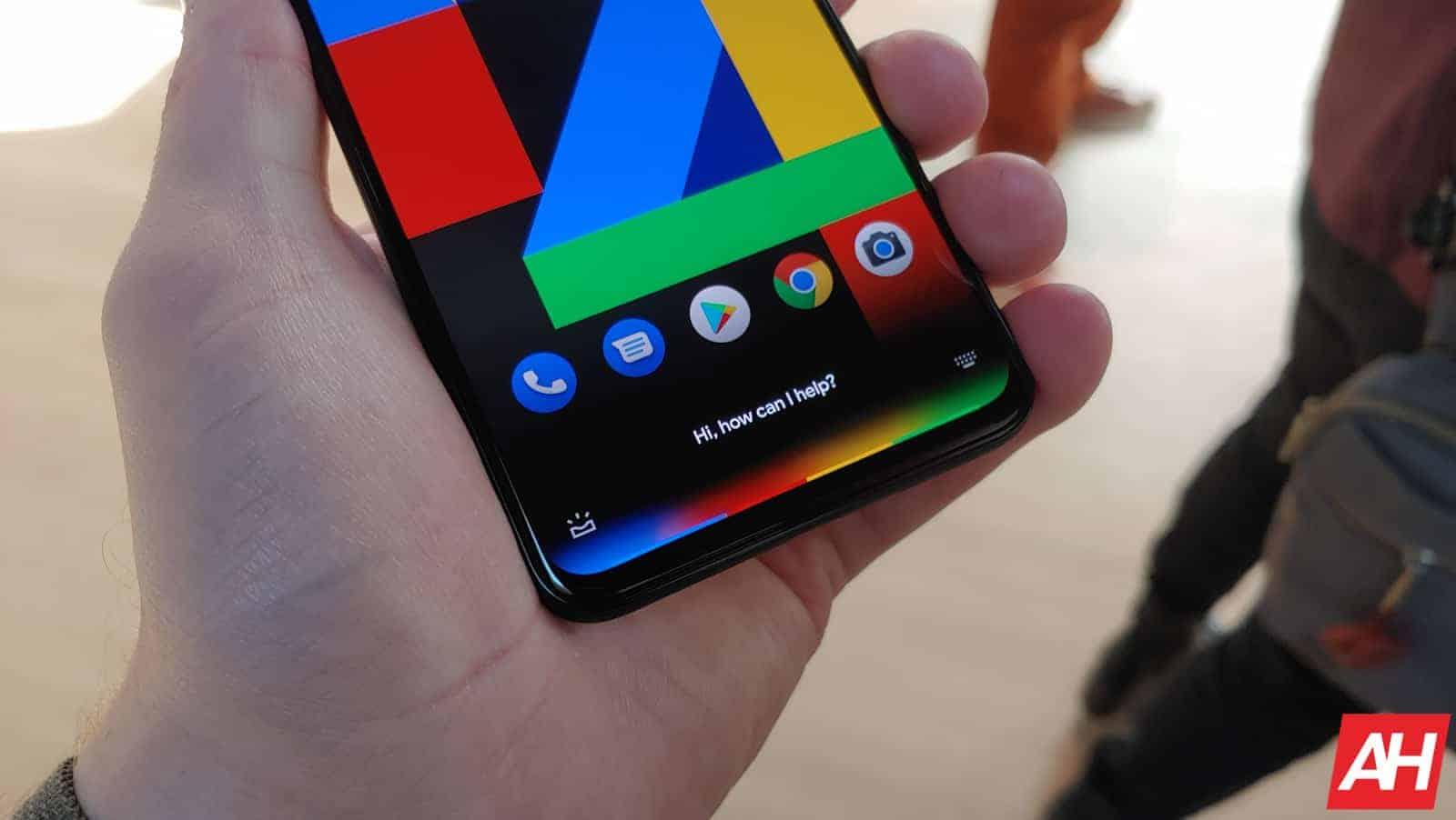 Google Pixel 4 Hands On AM AH 27