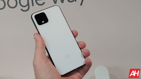 Google Pixel 4 Hands On AM AH 3