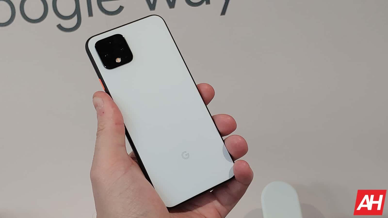 Google Pixel 4 Hands On AM AH 3