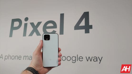 Google Pixel 4 Hands On AM AH 4