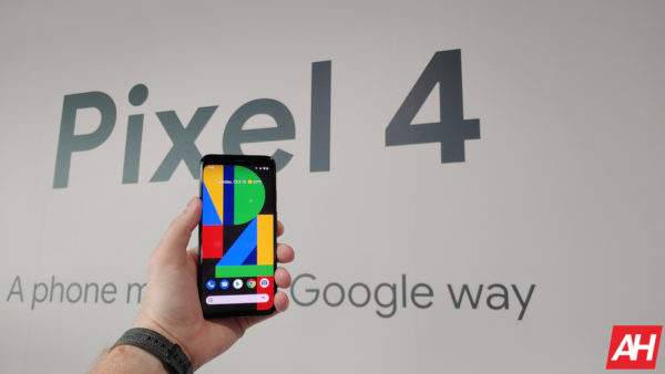 Google Pixel 4 Hands On AM AH 5