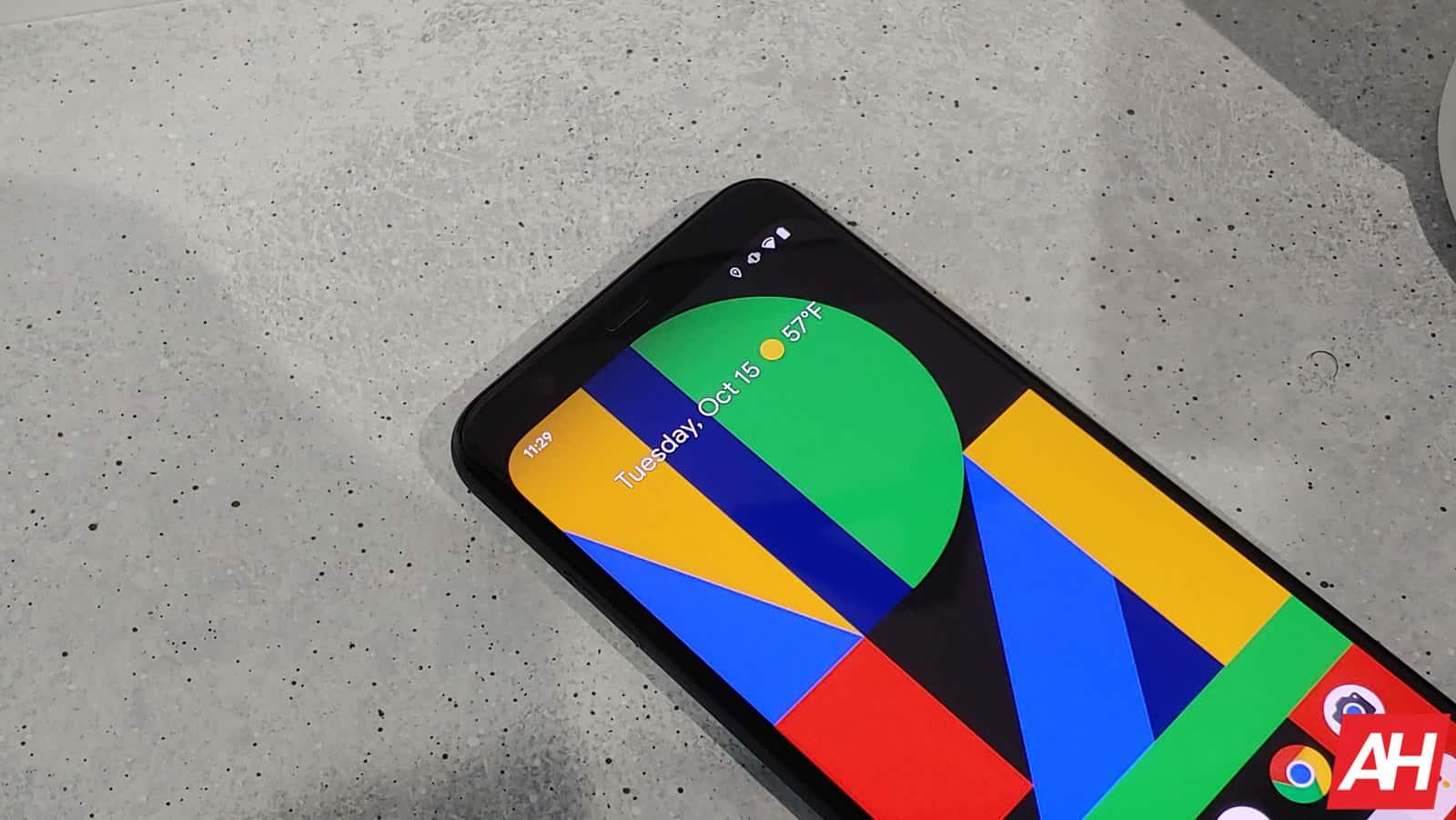 Google Pixel 4 Hands On AM AH 6 1