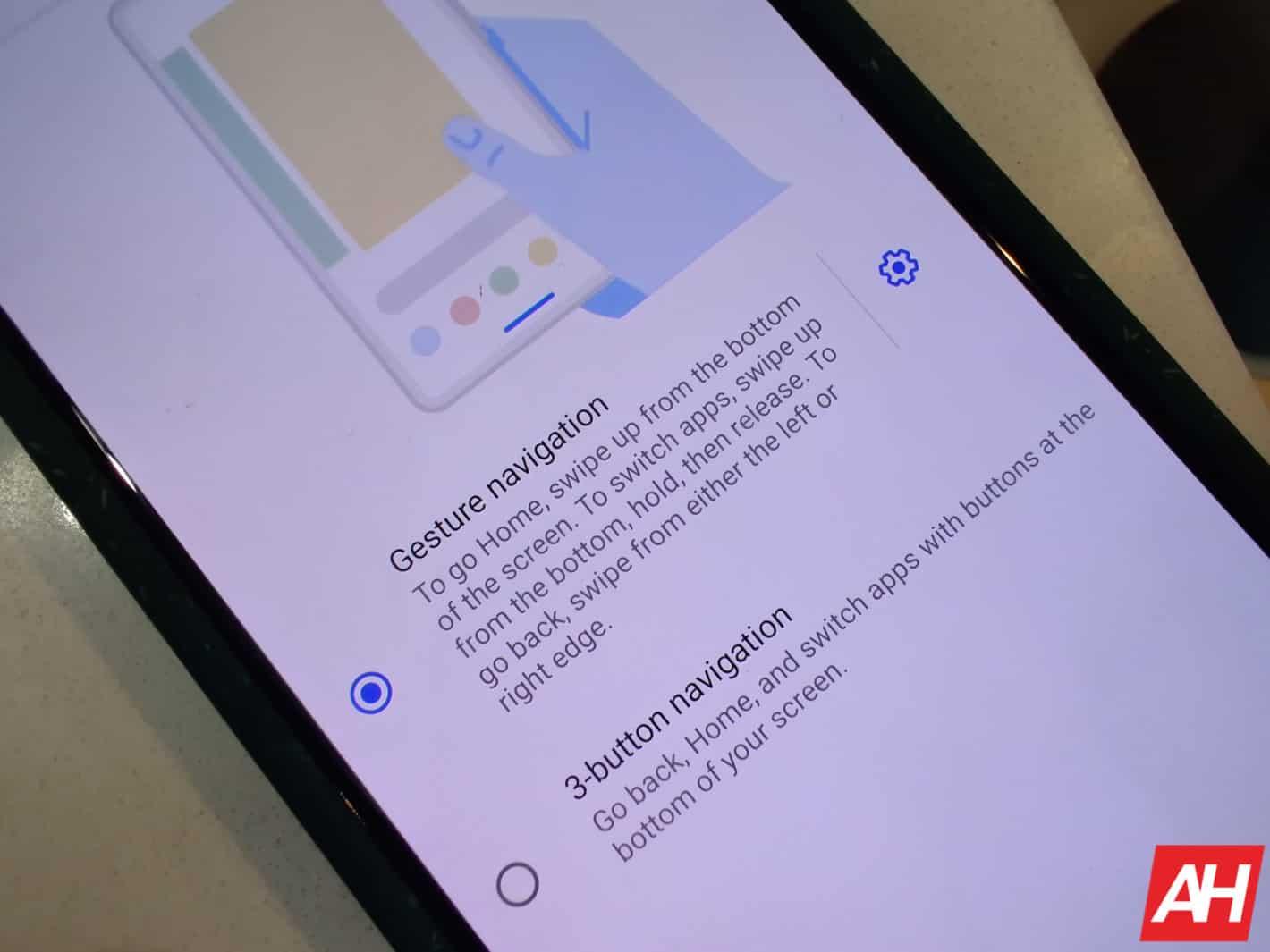 Google Pixel 4 Navigation AM AH 1