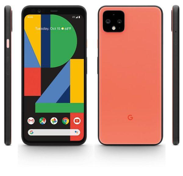 Google Pixel 4 Oh So Orange render leak 1
