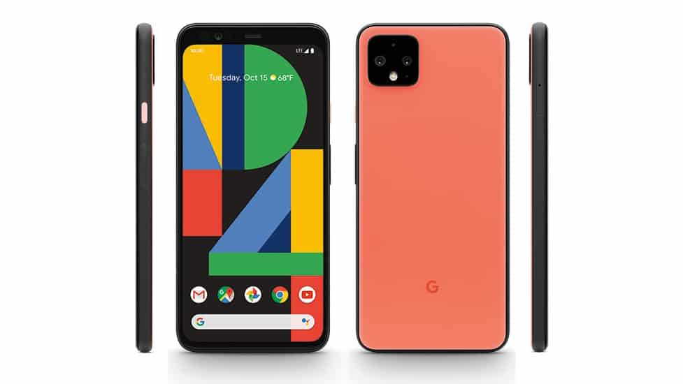Google Pixel 4 Oh So Orange render leak featured