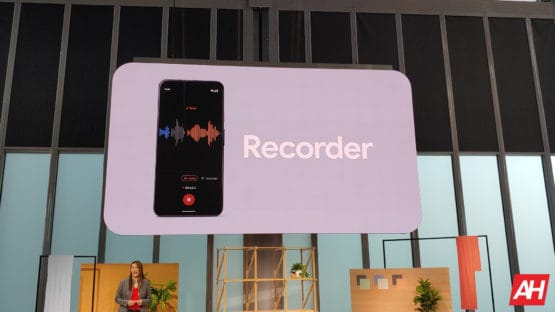 Google Pixel 4 Recorder App 1