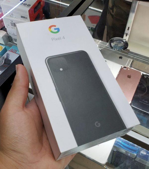 Google Pixel 4 retail box leak