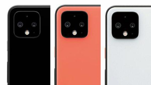 Google Pixel 4 series rear cameras leak 1