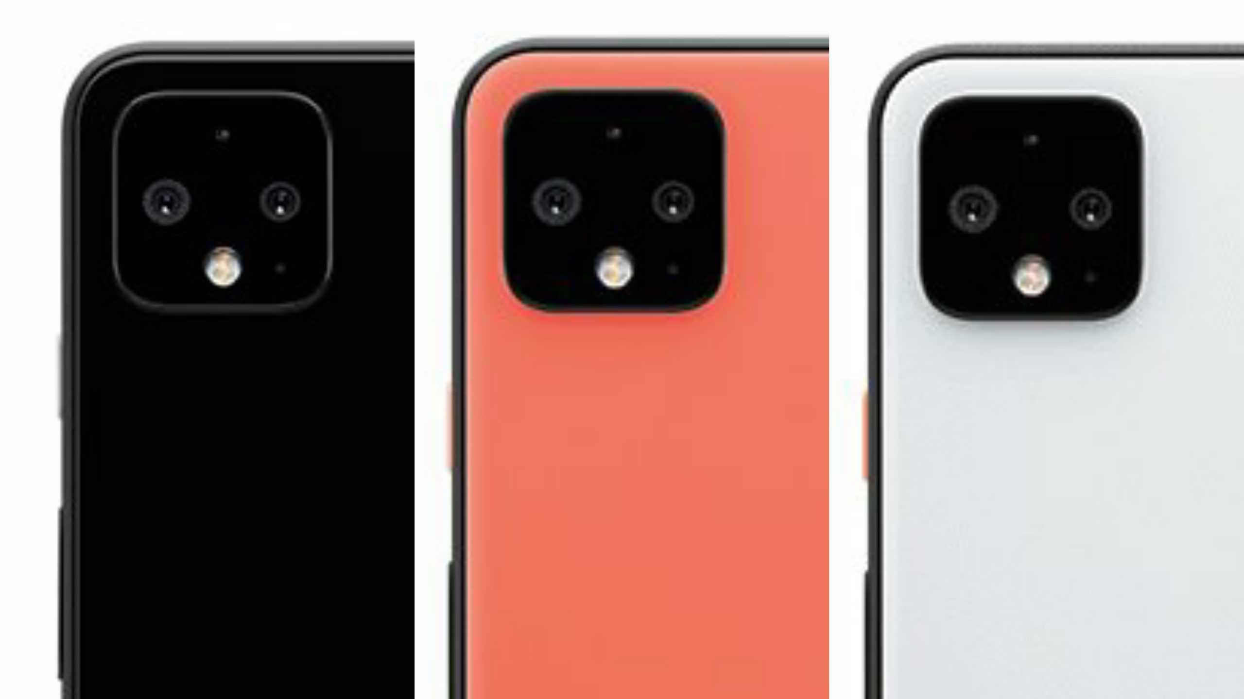 Google Pixel 4 series rear cameras leak 1