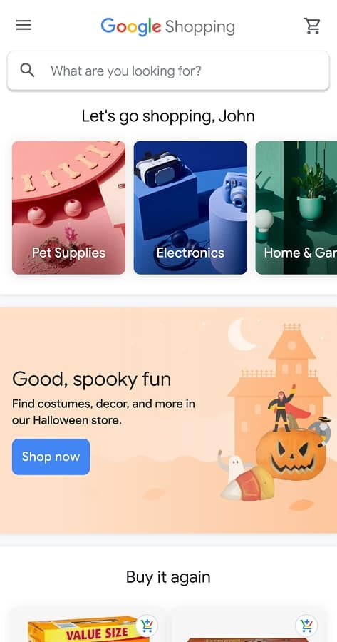 Google Shopping Mobile 01