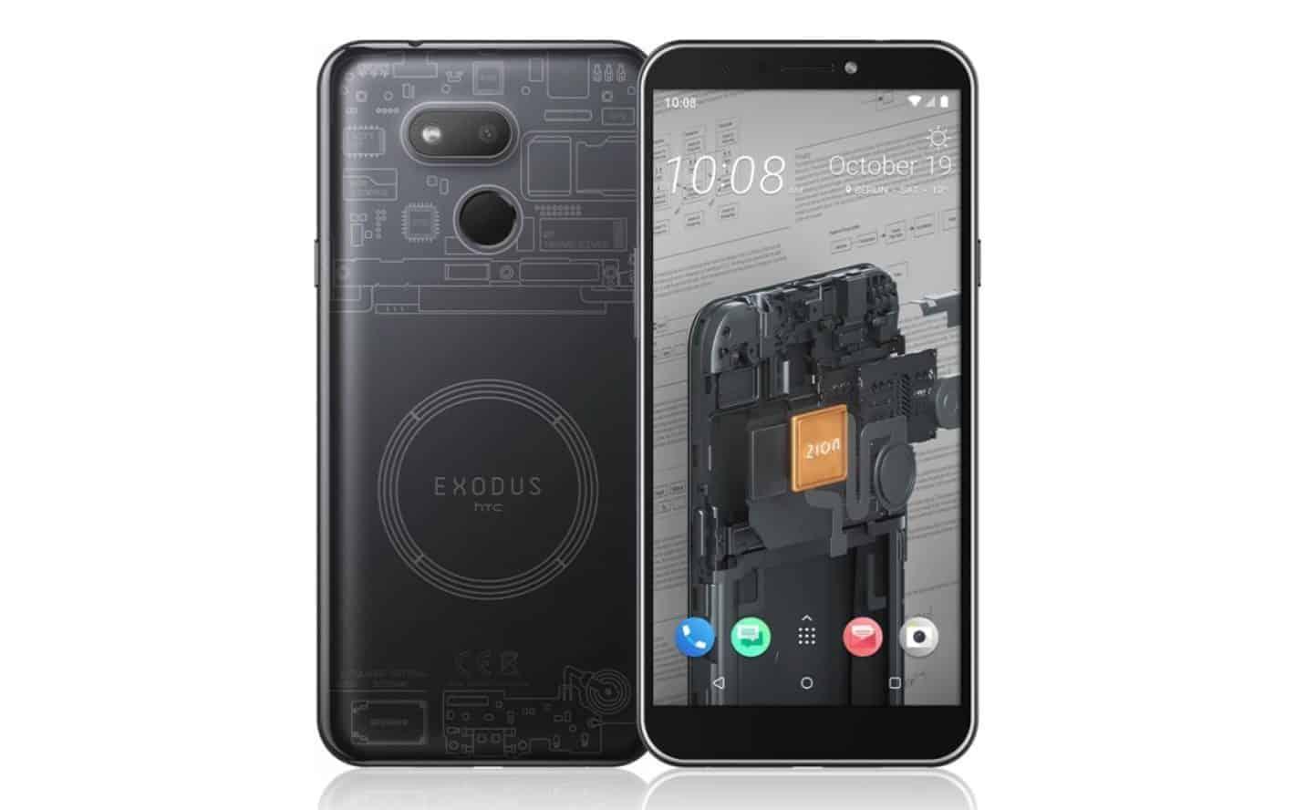 HTC EXODUS 1s presser