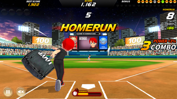 Homerun King Pro Baseball app image October 2019