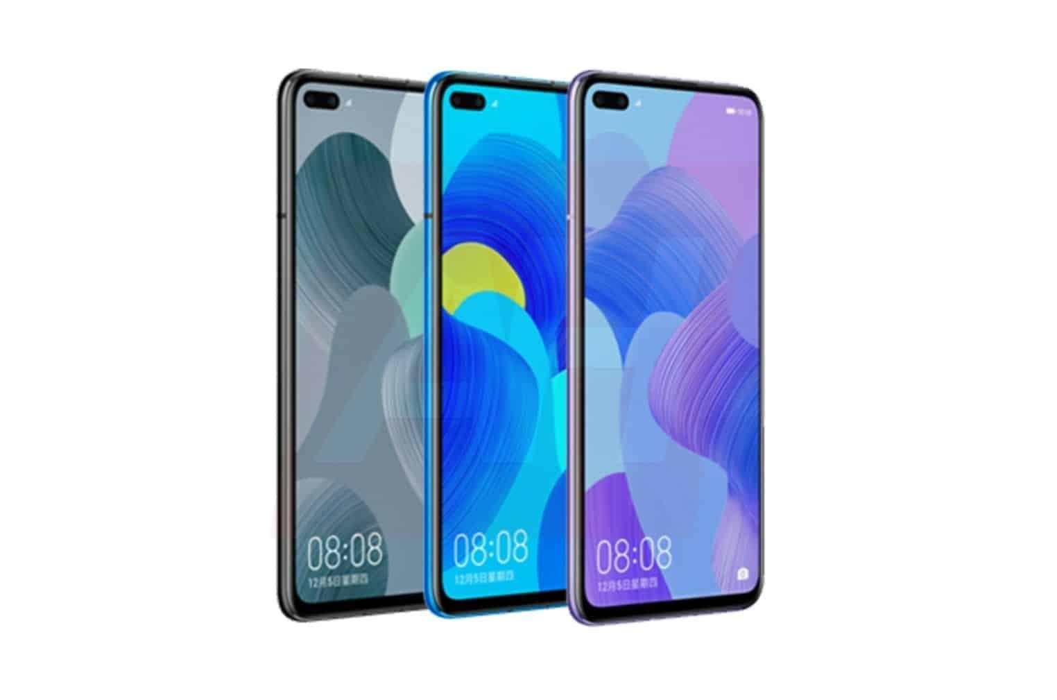 Huawei Nova 6 4G Leak AH
